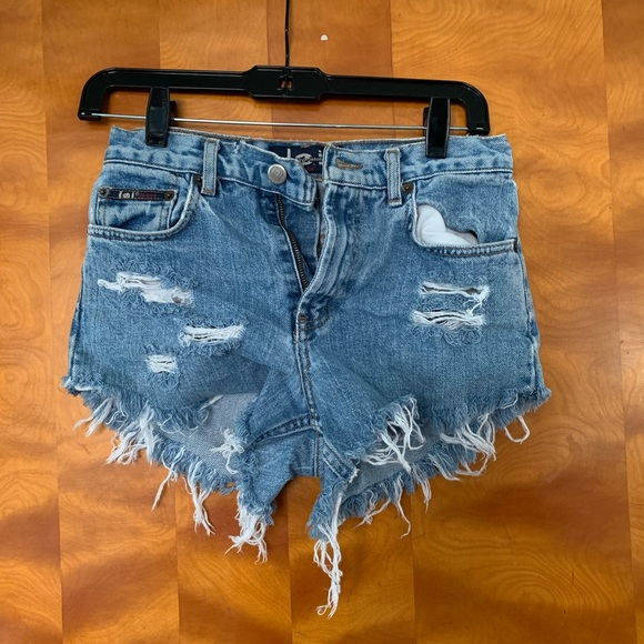 lei Pants - Vintage denim shorts